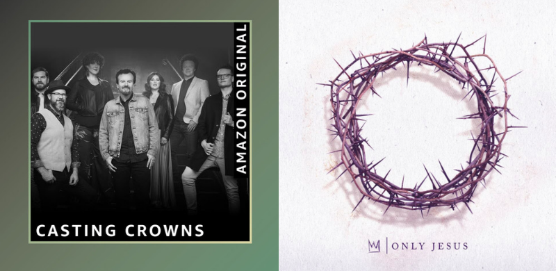 "Casting Crowns lanza el single original de Amazon ""Only Jesus"""