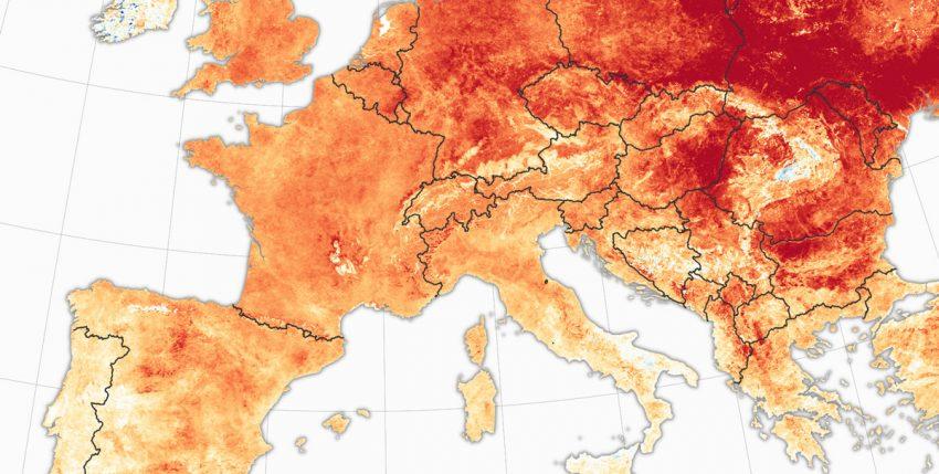 El invierno está desapareciendo en Europa: la extraordinaria ola de calor, explicada en un mapa