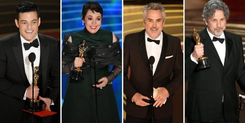 Lista completa de los ganadores de los Premios Oscar 2019