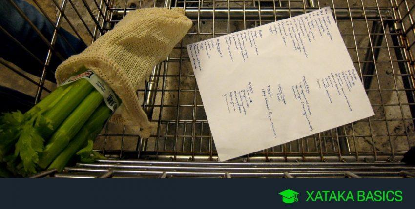 17 aplicaciones para organizar y gestionar la lista de la compra