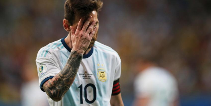 Argentina cae ante Colombia y Messi es el objetivo de las críticas