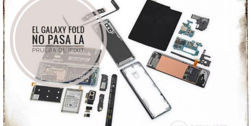 Samsung Galaxy Fold fue expuesto a una prueba de plegado