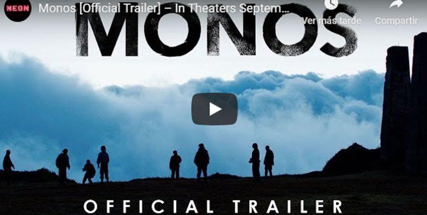 Monos está nominada a mejor película