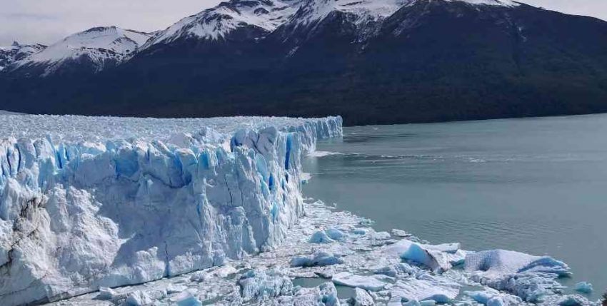 El extraño fenómeno que afecta a los glaciares de Sudamérica